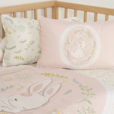 Jadaloo Anti-Dustmite Baby Portable Nap Quilt Set - Anne Rabbit