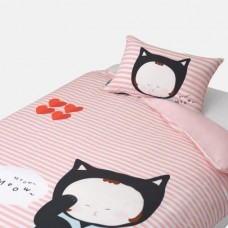 Jadaloo Anti-Dustmite Four Season Duvet Set - Baby Cat Meow