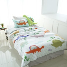Jadaloo Anti-Dustmite Four Season Duvet Set - Jurassic Park