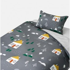 Jadaloo Anti-Dustmite Four Seasons Duvet Set - Maison Gray