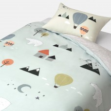 Jadaloo Anti-Dustmite Four Seasons Duvet Set - Polar Bears