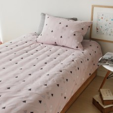 Jadaloo Anti-Dustmite Four Seasons Duvet Set - Vella Pink Trees