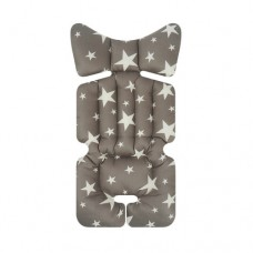 Little Seeds Stroller Pad - Milky Way Gray
